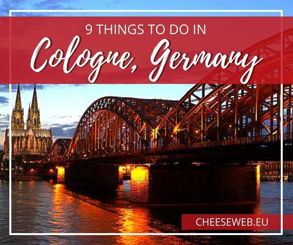 Looking for a fun city-trip in Europe, don't miss Köln #Germany. We share 9 things to do in Cologne to keep you busy for a holiday weekend.