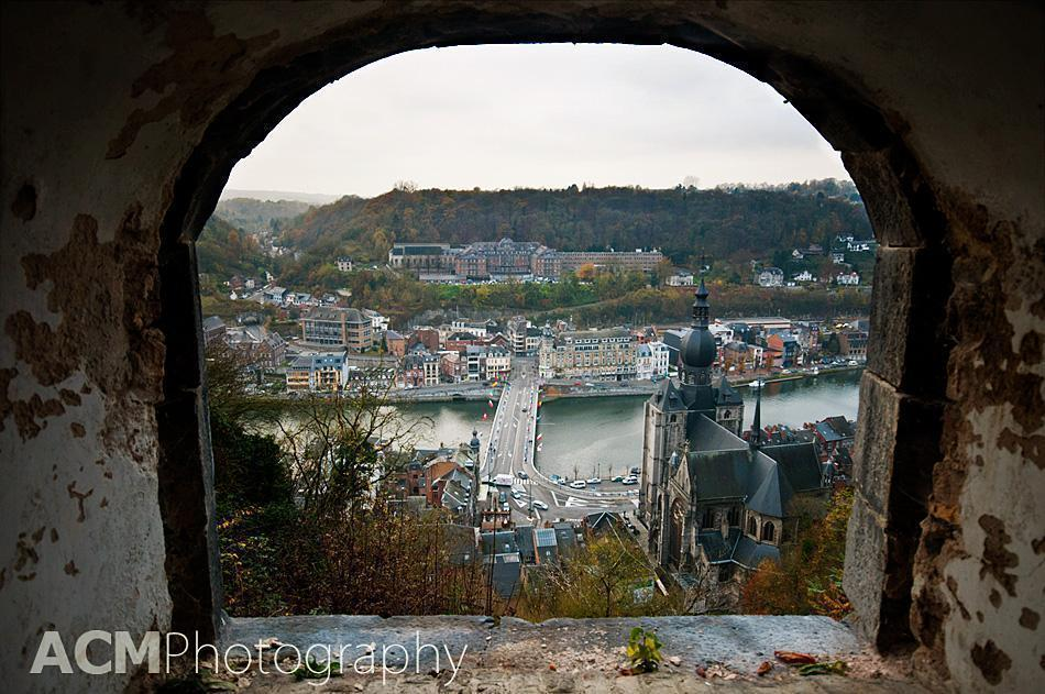 View from the Dinant Citadel