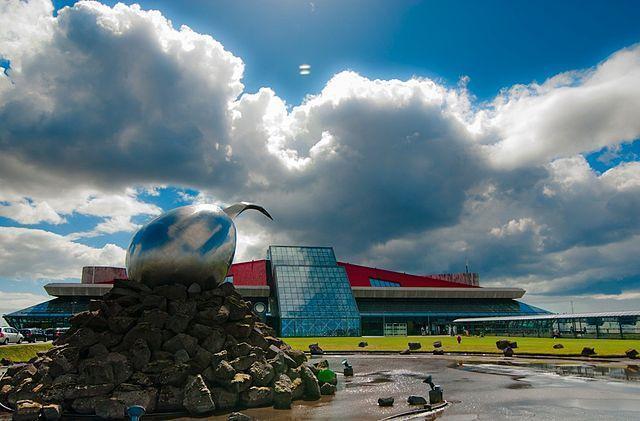 Keflavik airport terminal building