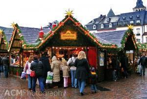 The Trier, Germany Christmas Market