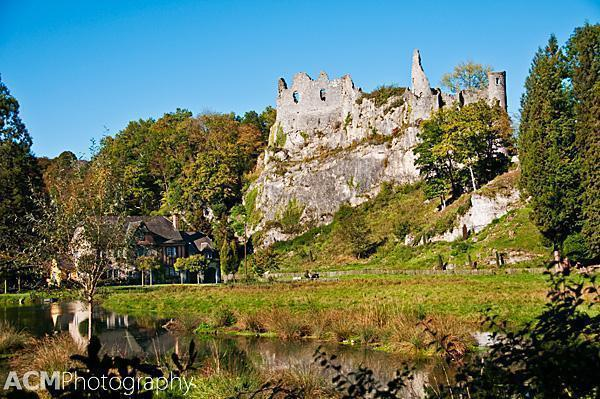 Montaigle Castle Ruins, Falaën, Belgium