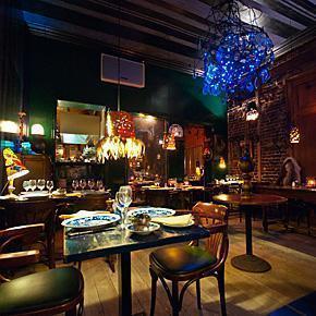 L'Idiot du Village Restaurant, Brussels, Belgium