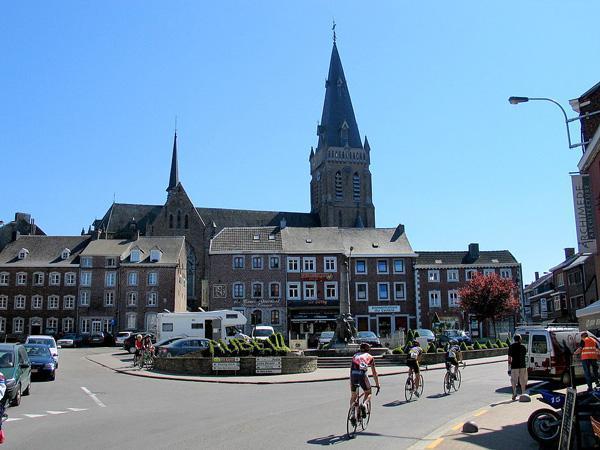 Aubel's city centre
