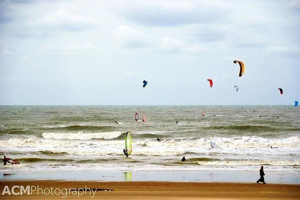 The sandy beaches of The Netherlands