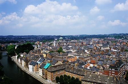 Namur viewed from the Citadel
