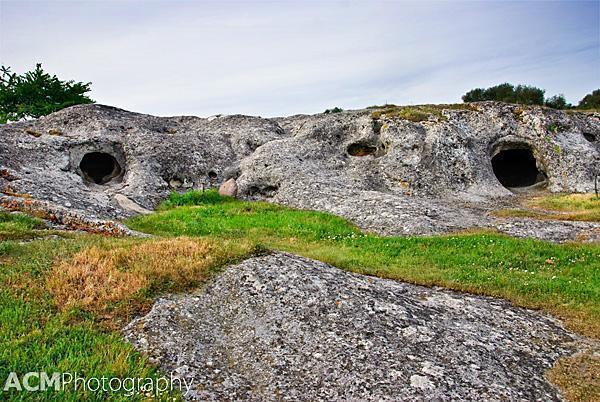 Pottu Codinu subterranean burial ground - Sardinia, Italy