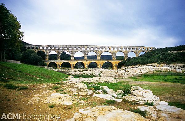 Pont du Gard - Roman aqueduct, France