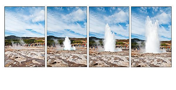 The Geysers of Haukadalur, Iceland