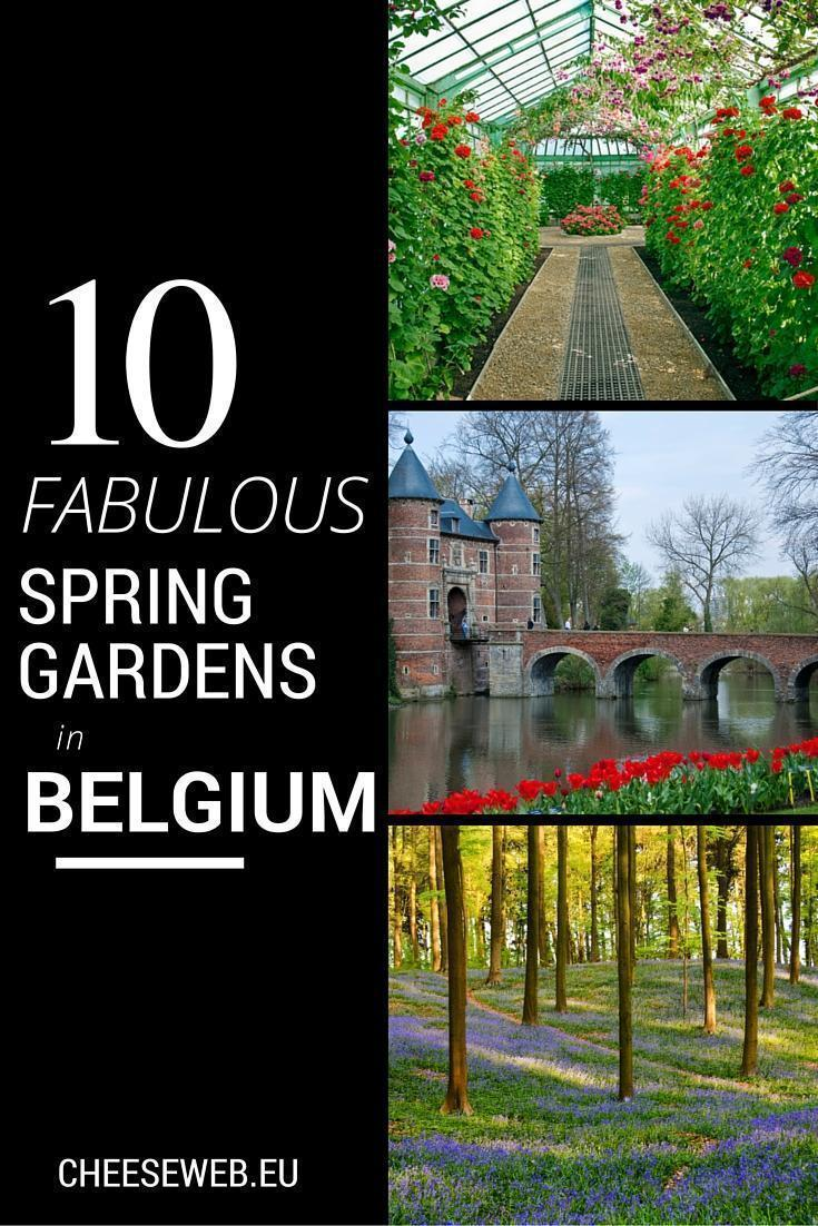 Belgium's Top Ten Spring Gardens