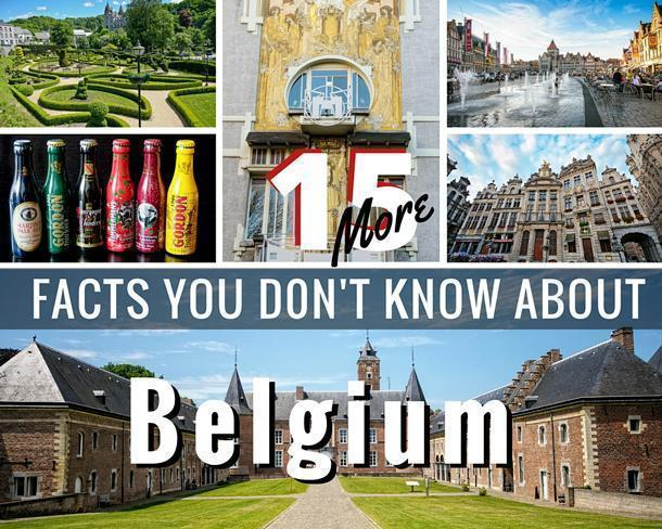15 more facts you don't know about Belgium