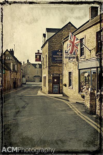 Bourton-on-the-Water, the Cotswolds, England