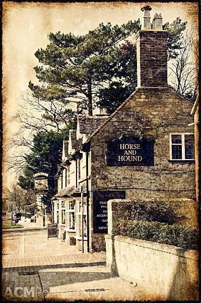 A traditional pub in Broadway, The Cotswolds