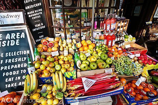 Fruit Seller Stand, Broadway