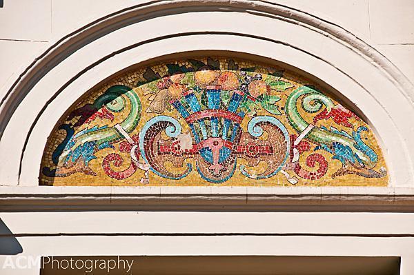 Tile work detail
