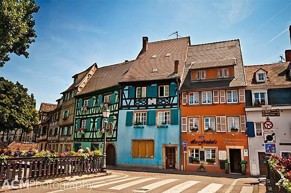 Colmar's Little Venice Neighbourhood