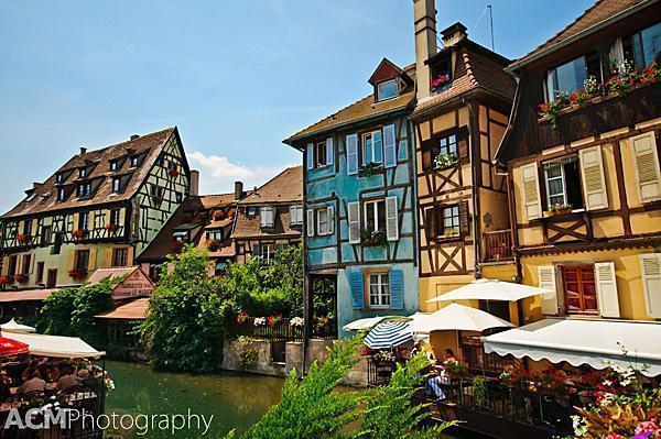 Colmar's Little Venice area
