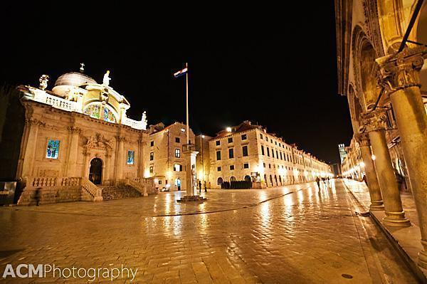 20120310 Croatia 0317 Dubrovnik, Croatias Old Town at Night in Photos
