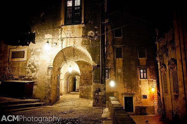 Dubrovnik is a magical place at night