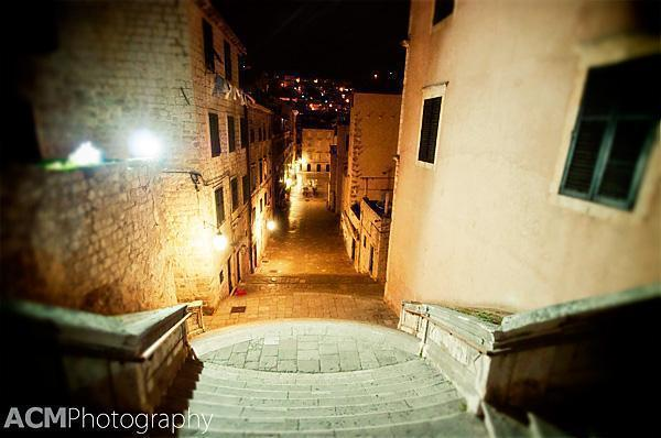 Descending back down into the Old Town