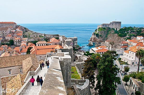 Fort Lovrijenac and the Dubrovnik City Walls