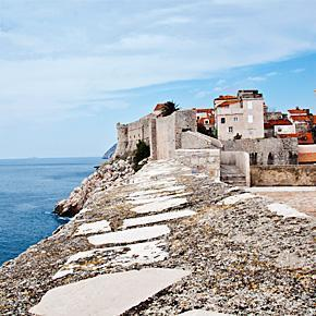 Exploring Dubrovnik's Old Town City Walls