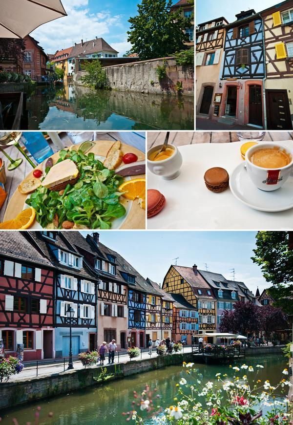 Our lunch in Colmar