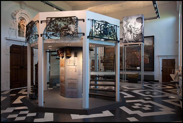 Modern displays of ancient Ghent artefacts