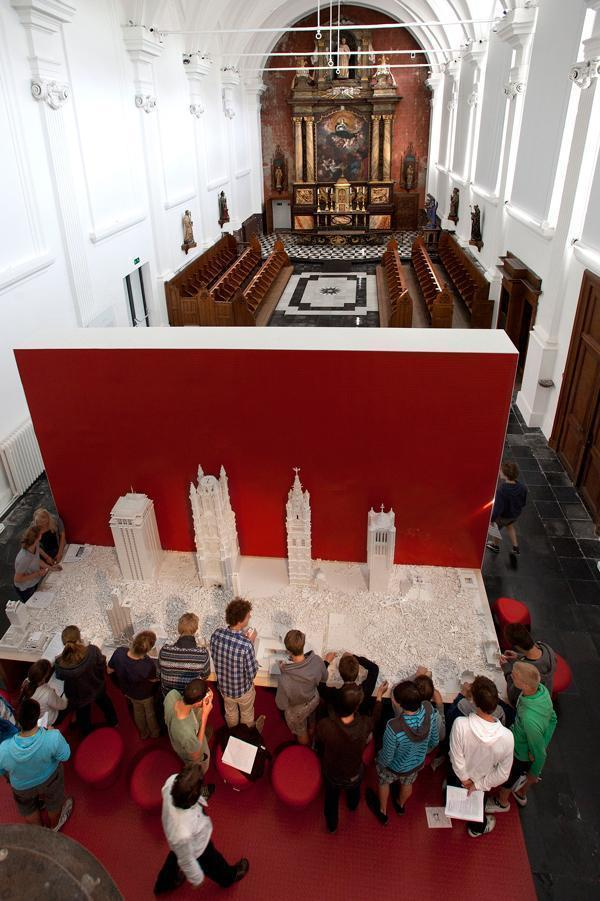 LEGO in the chapel
