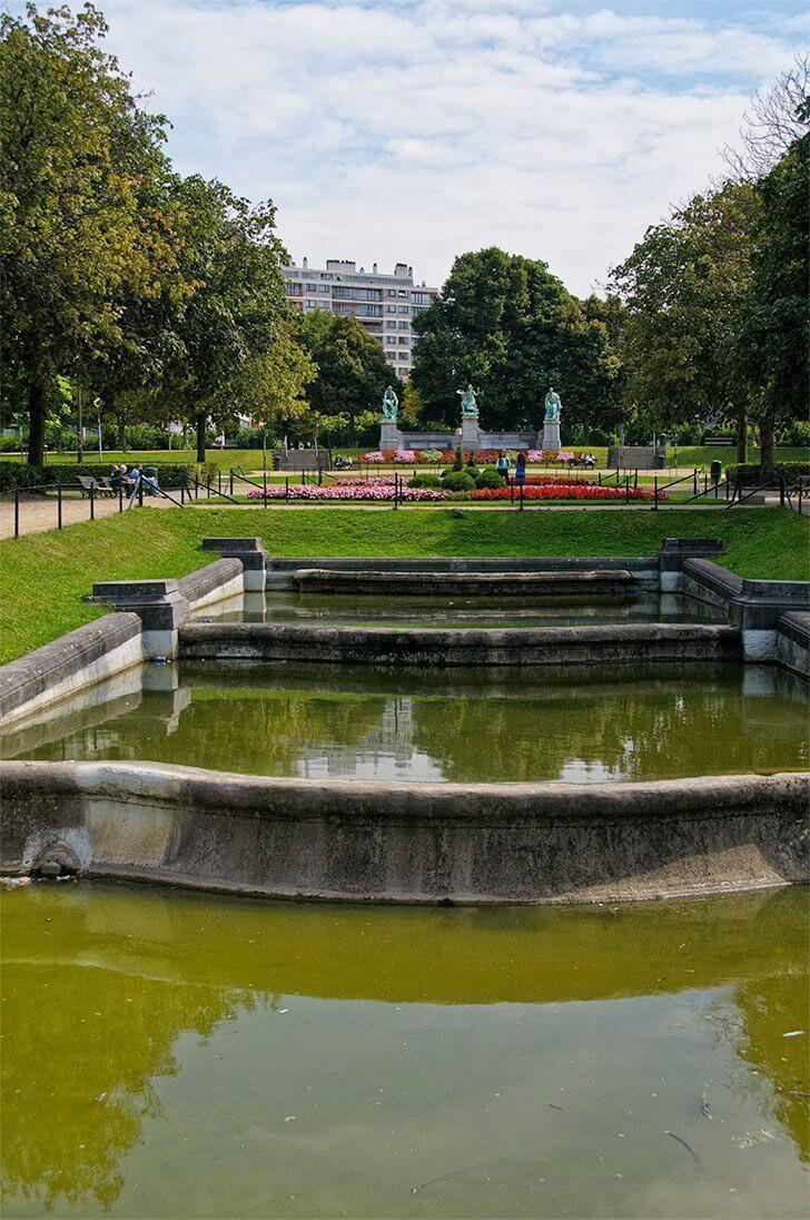 brussels free city tour
