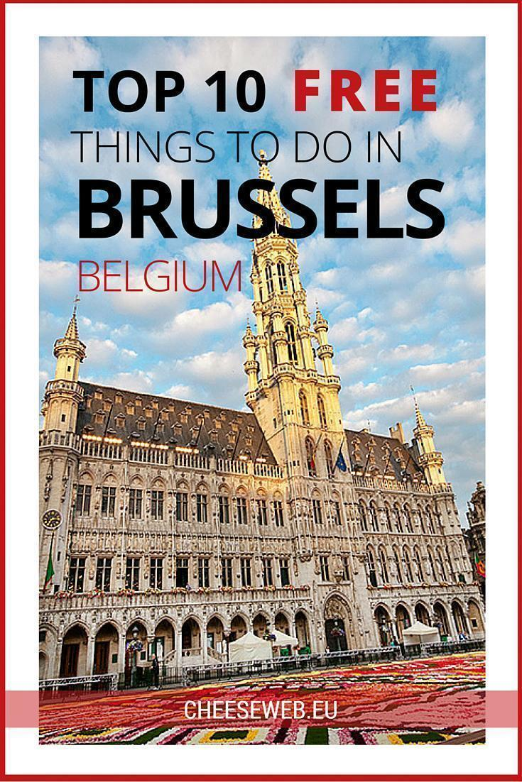 Top 10 free things to do in Brussels, Belgium