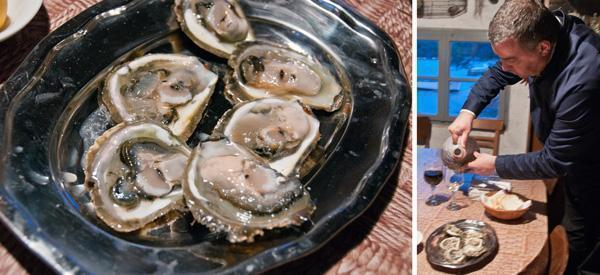Ston Oysters in Croatia