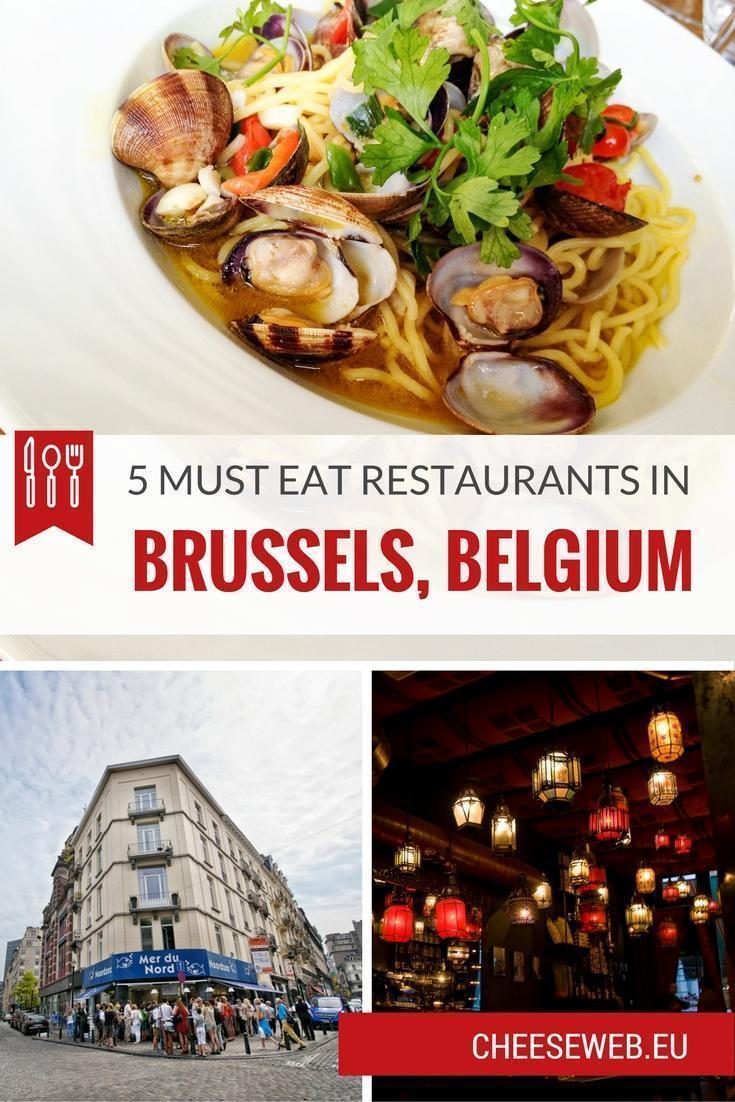 5 Must Eat Restaurants in Brussels, Belgium (Be sure to click through the entire series!)