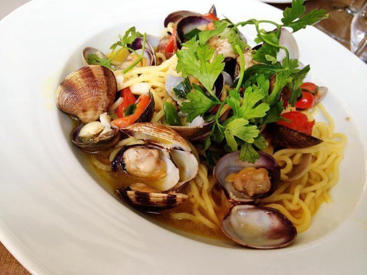 Delicious pasta at La Mamma