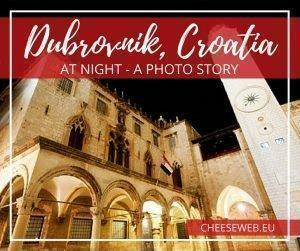 Dubrovnik, Croatia's Old Town is stunning at night. Here are our favourite photos from a nighttime walk through the walled city.