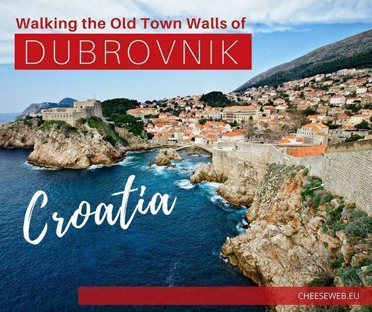 One of the best ways to explore Dubrovnik, Croatia's Old Town, is by taking a walk along the city walls. If you visit during the off-season as we did, you'll have this incredible view almost to yourself.