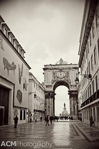 The Rua Augusta Arch in Commerce Square, Lisbon