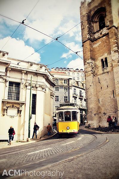 The antique trams of Lisbon
