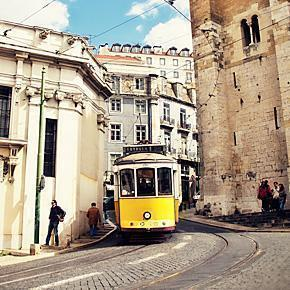The Iconic Trams of Lisbon, Portugal