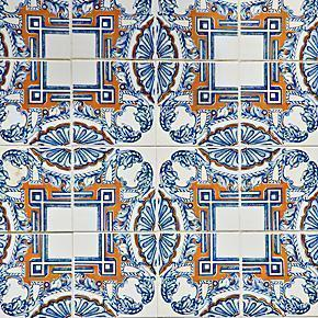 Azulejos - Tiles of Lisbon, Portugal