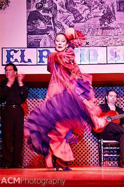 flamenco performance in Seville, Spain