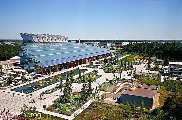 Villa Flora building - Floriade 2012