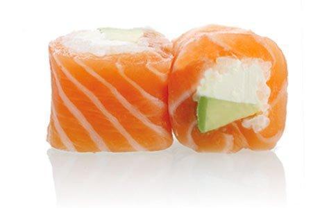 MAKI PINK salmon, avocado, cheese