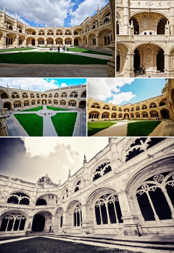 The two storey cloister of Jerónimos Monastery