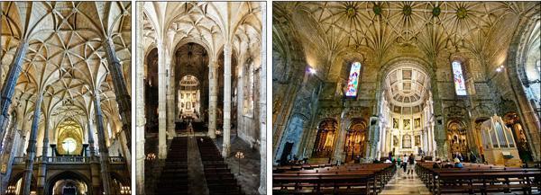 Jerónimos Monastery Church Interior