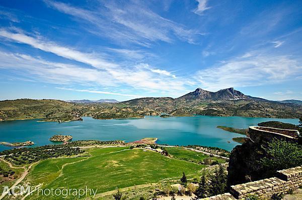 View from Zahara de la Sierra