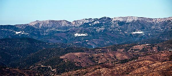 Pueblos Blancos, or white villages, dotted throughout the mountains of Andalusia.