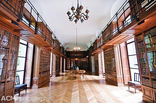 The library of Beloeil