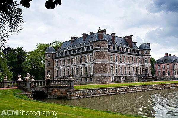 The Symmetrical Chateau de Beloeil