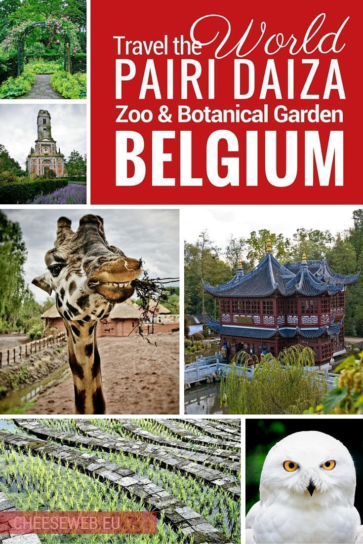 Travel the world at Pairi Daiza zoo and botanical garden in belgium