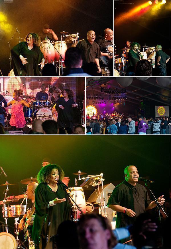 Kassav' at the Afro-Latino Festival